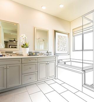 teslabutor.hu 3D fürdőszoba látványterv